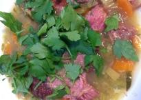 Smoked Ham & Winter Veg Soup
