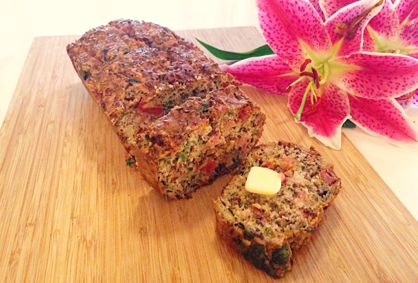 Bacon, Sundried Tomato & Basil Loaf