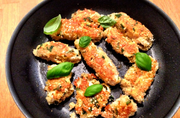 Coconut & Quinoa Fish Fingers